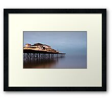 Colwyn Bay Pier Framed Print