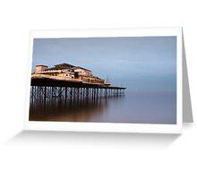 Colwyn Bay Pier Greeting Card