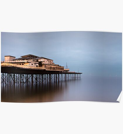 Colwyn Bay Pier Poster