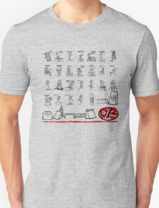skater park tshirt by rogers bros T-Shirt