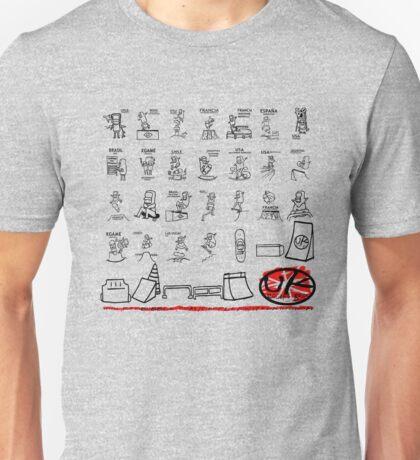 skater park tshirt by rogers bros Unisex T-Shirt