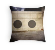 Industrialeyes Throw Pillow