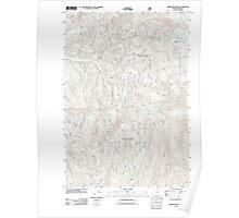 USGS Topo Map Oregon Limber Jim Creek 20110822 TM Poster