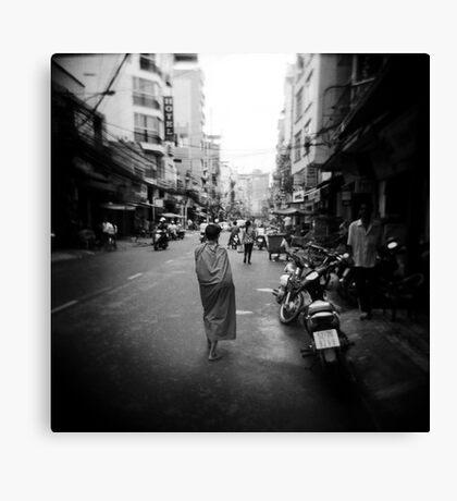 Monk Saigon Vietnam Canvas Print