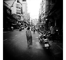 Monk Saigon Vietnam Photographic Print