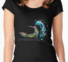 Shredding Women's Fitted Scoop T-Shirt