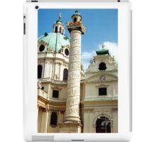 Karlskirche, Vienna, Austria (2) iPad Case/Skin