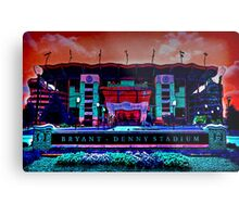 Alabama Crimson Tide Bryant Denny Stadium Metal Print