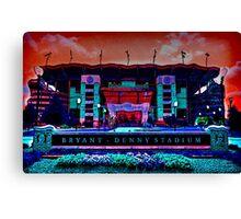 Alabama Crimson Tide Bryant Denny Stadium Canvas Print