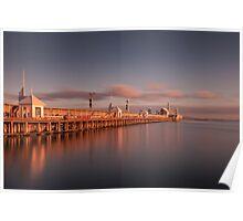 Cunningham Pier, Geelong - Australia Poster