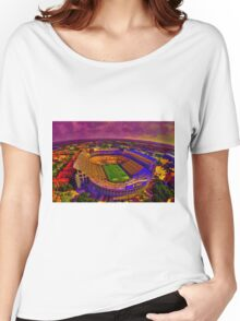LSU Tigers Death Valley Women's Relaxed Fit T-Shirt