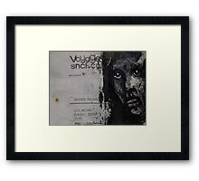 "Face, Bernard Lacoque-69  ""Voyage"" Framed Print"
