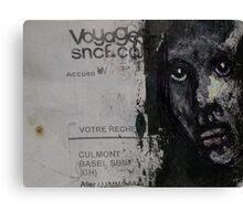 "Face, Bernard Lacoque-69  ""Voyage"" Canvas Print"