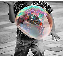 Soap Selective Colour Photographic Print