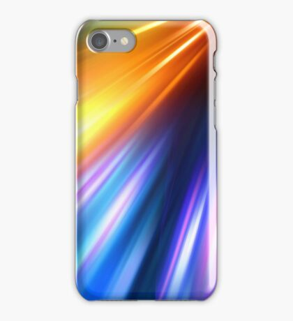 abstract night acceleration speed motion iPhone Case/Skin