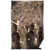 Buddha Shadows Poster