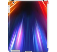 abstract night acceleration speed motion iPad Case/Skin