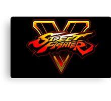 Street Fighter V Canvas Print