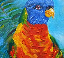 """""""Resting"""" my bird in for the night,resting,tree tops  by Kym  Breeze"""