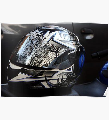 Helmet - Always wear Poster