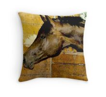 The Essence of Horse Throw Pillow