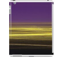 Light/dark photography series #5 (yellow and purple) iPad Case/Skin