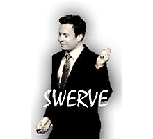 Fallon Swerve White Photographic Print