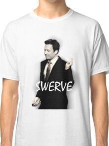 Fallon Swerve White Classic T-Shirt