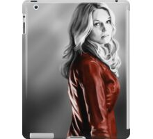 Emma Swan and the Red Leather Jacket iPad Case/Skin