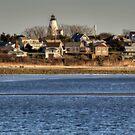 Gurnet Lighthouse II by Monica M. Scanlan