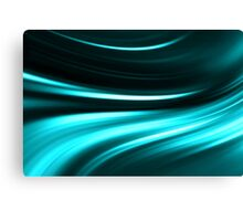 abstract night blue neon background Canvas Print