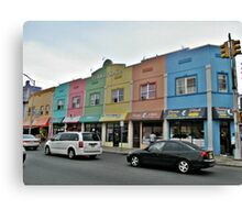 Rainbow Plaza Canvas Print