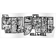 KILL la KILL Manga Bits! Poster