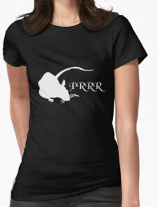 PRRR Design 2011 - The Rat Womens Fitted T-Shirt