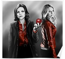 Emma and Regina and Red Poster