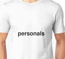 personals Unisex T-Shirt