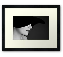 She knows Framed Print