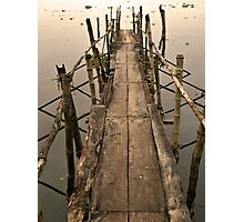 Cochin Jetty Photographic Print