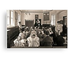 School for Thought Canvas Print
