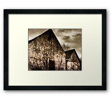Old Croft Houses near Ben Nevis Framed Print