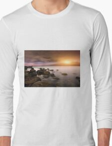 Baltic Sea - Sunset Long Sleeve T-Shirt