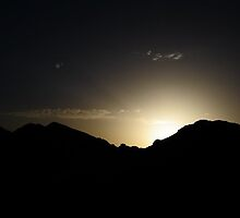 Sunrise over the Mountains by Bebecathe