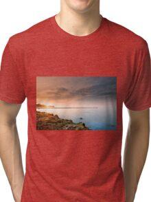 Baltic Sea - Sunset Tri-blend T-Shirt