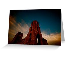 WIde Angle Religion Greeting Card