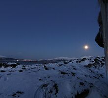 The moon by Frank Olsen