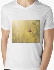 Little Flower Mens V-Neck T-Shirt