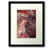 sand cloth Framed Print