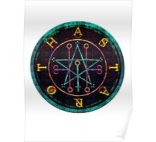 SEAL OF ASTAROTH - cold Poster