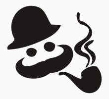 Mustache man smoker One Piece - Long Sleeve