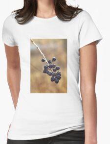 Little Flower Womens Fitted T-Shirt